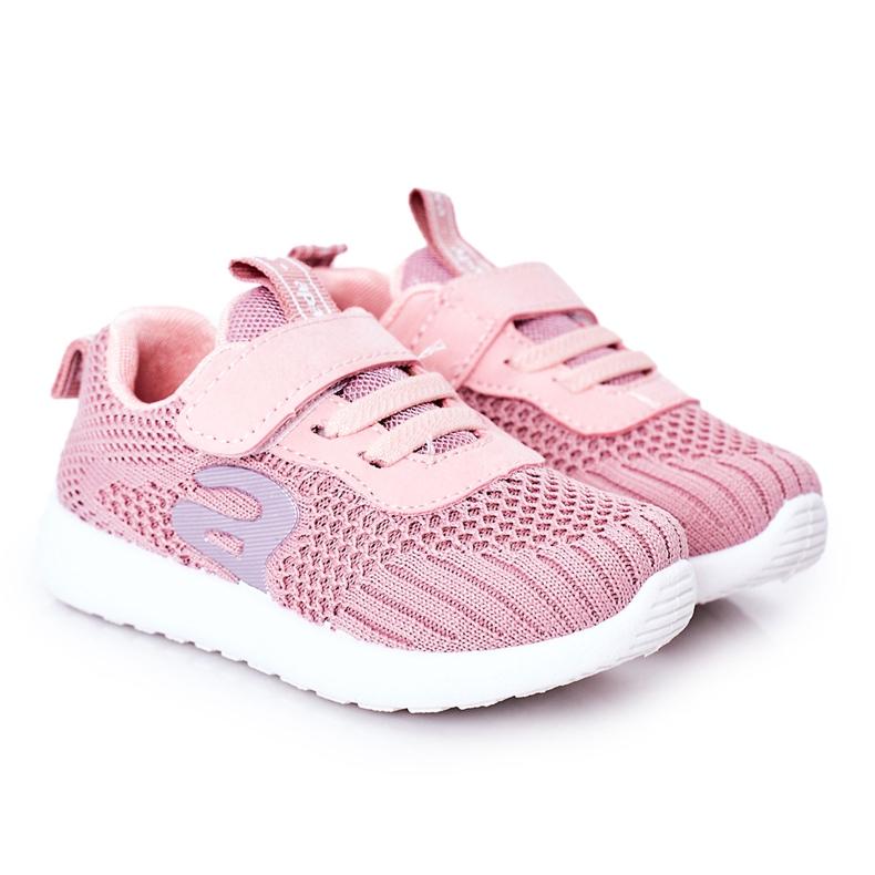 Apawwa Children's sports shoes dark pink Little Sportsman