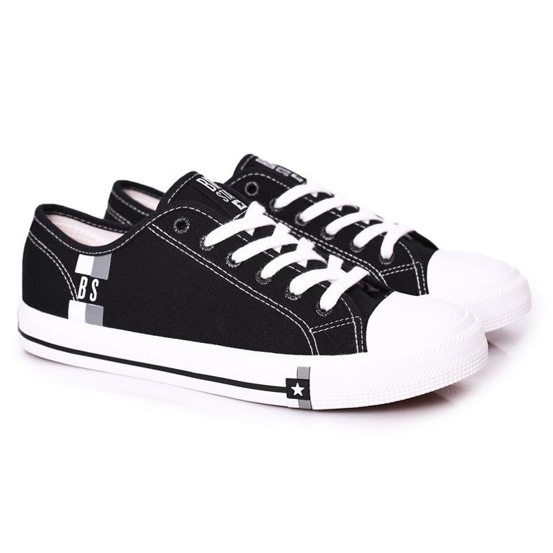 Men's Black Big Star HH174323 Sneakers
