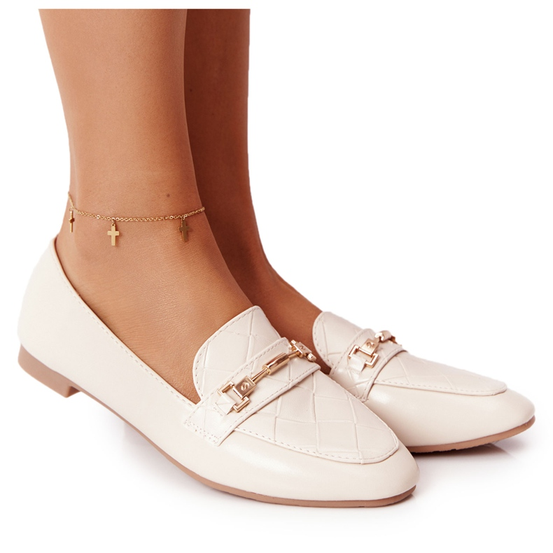 PS1 Classic Women's Beige Eloquence loafers