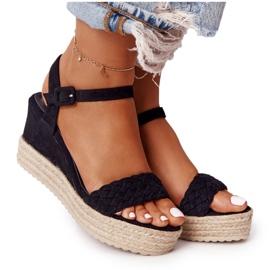 PS1 Black Balearic Wedge Sandals beige