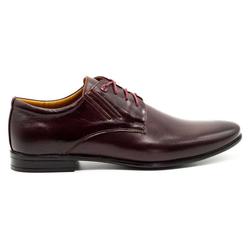 Olivier Burgundy formal shoes 480 red multicolored