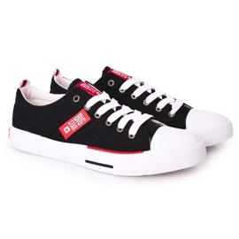 Men's Big Star HH174039 Black Sneakers