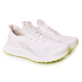 Men's Sports Shoes Memory Foam Big Star FF174235 White-Lime green