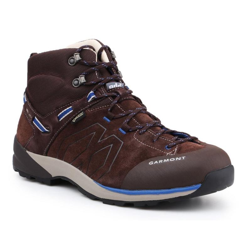 Garmont Santiago Gtx M 481240-217 shoes brown blue