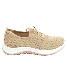 G-323 Beige beige sports shoes