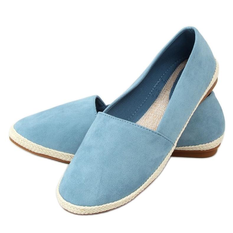 Sneakers blue espadrilles 7870 Blue
