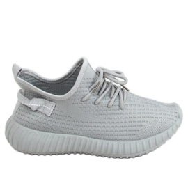 Gray socks sport shoes 7817 Gray grey