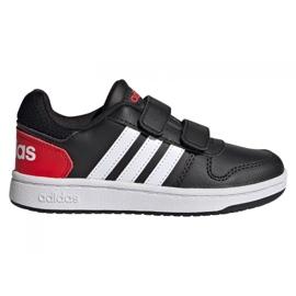 Adidas Hoops 2.0 C Jr FY9442 shoes black