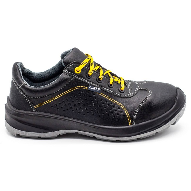 ŁUKPOL Techwork 1128 black men's working shoes