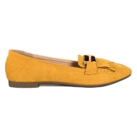 Anesia Paris Stylish moccasins yellow