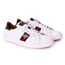 Bednarek Polish Shoes Men's Leather Shoes Sneakers Bednarek White