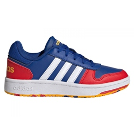 Adidas Hoops 2.0 Jr FY7016 shoes navy blue blue