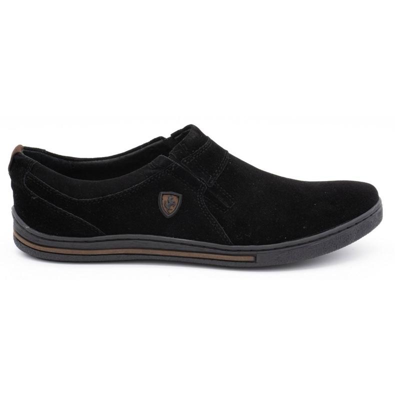 Polbut Men's Brogues Leather-Eko 362 black