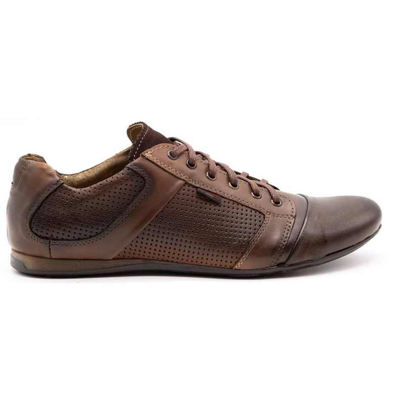Lemar Men's leather shoes 882 brown