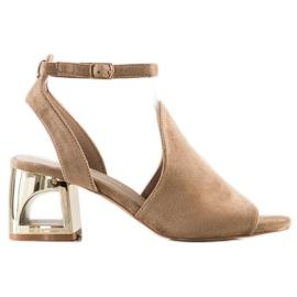 Filippo Stylish Built Sandals beige