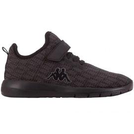 Kappa Gizeh Jr 260597K 1111 shoes black grey