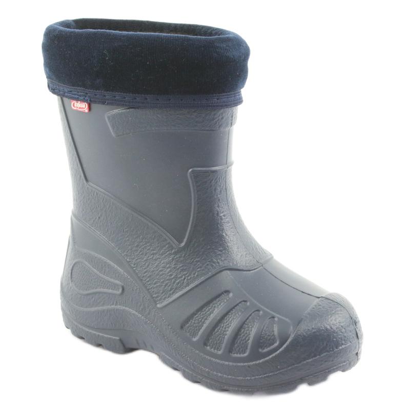 Befado children's navy blue rain boots 162P103
