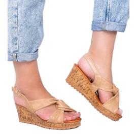 Beige wedge sandals Buenos Aires