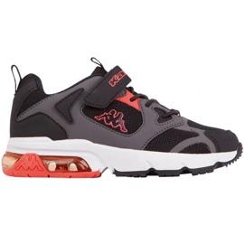 Kappa Yero Jr 260891K shoes black red