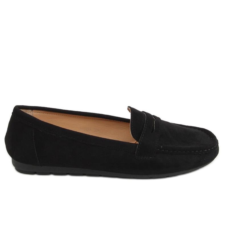 Black Women's loafers S-980 Black