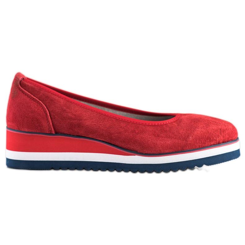 Filippo Wedge Heels red