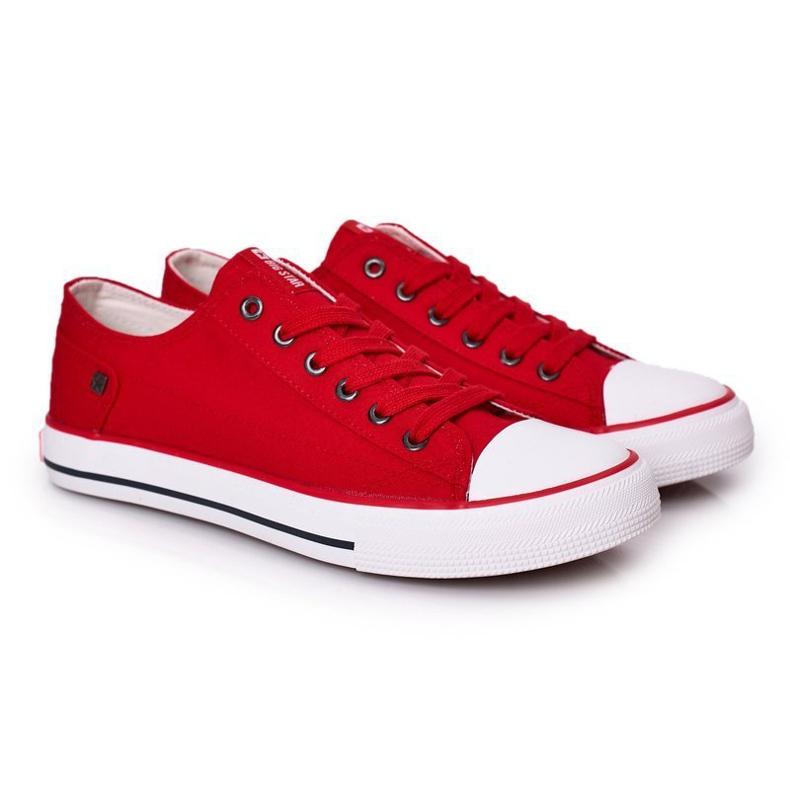 Men's Sneakers Big Star DD174274 Red