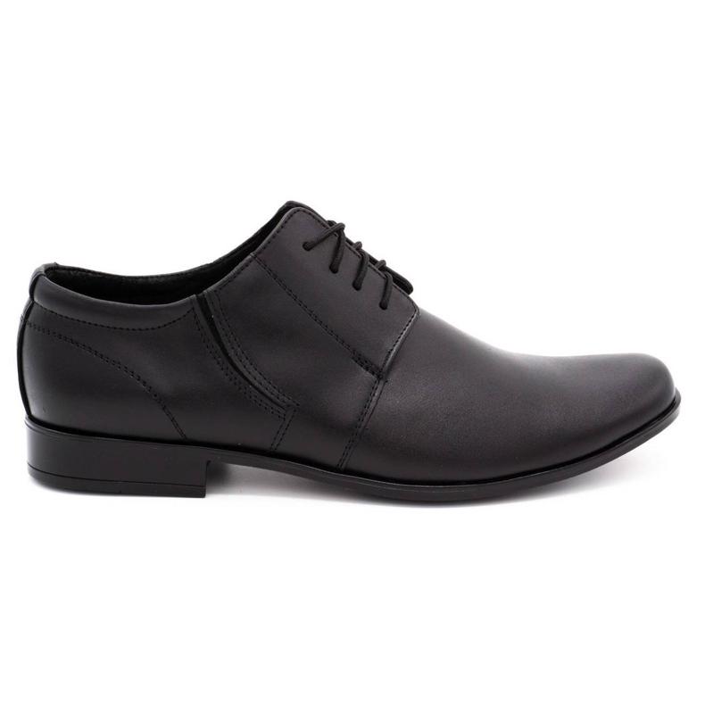 Lukas Men's formal shoes 152LU black red