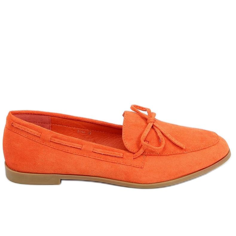 Orange classic women's moccasins 3394 Orange