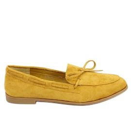 Classic women's moccasins mustard 3394 Yellow