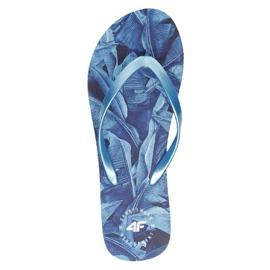 4F W H4L21-KLD004 91S Flip Flops blue