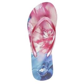 4F W H4L21-KLD004 92S Flip Flops pink