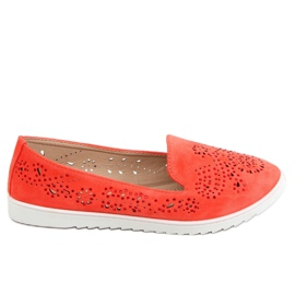 Coral openwork lords DY-09 Orange