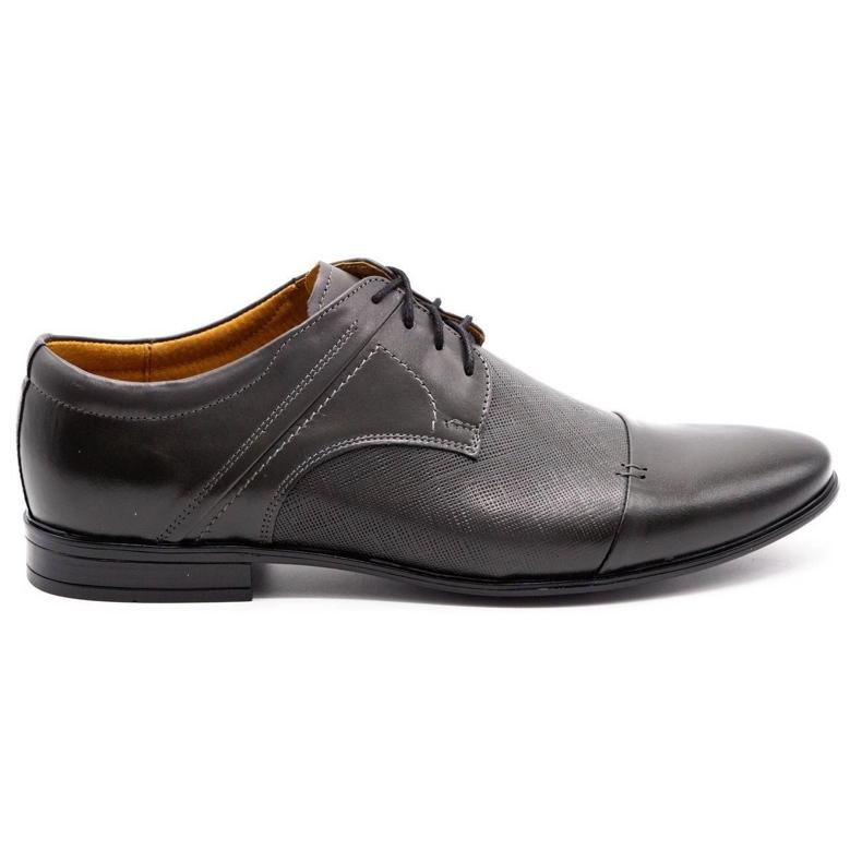 Olivier Men's formal shoes 710 gray grey