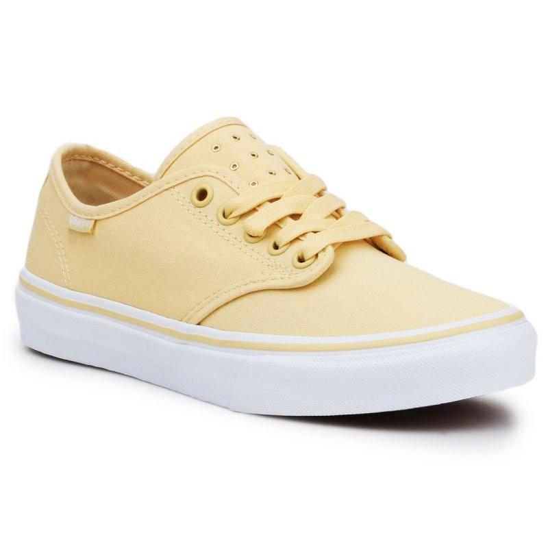 Vans Camden Stripe W VN000ZSOR6P1 Shoes yellow - ButyModne.pl