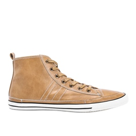 Men's beige sneakers Colten