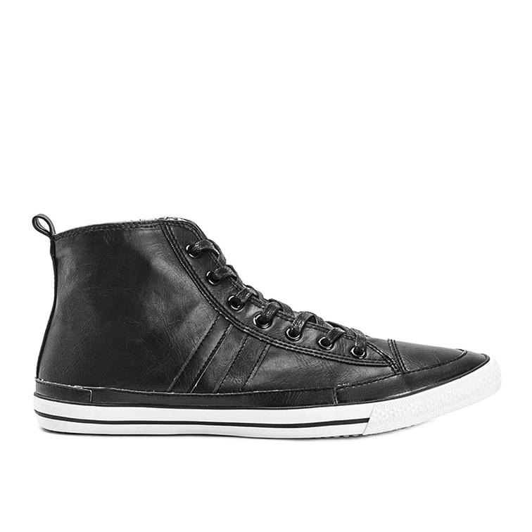 Men's black sneakers Colten