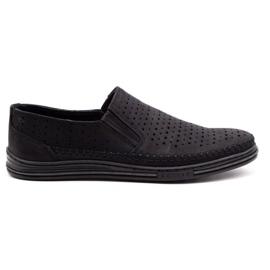 Polbut Men's openwork shoes 2107P black