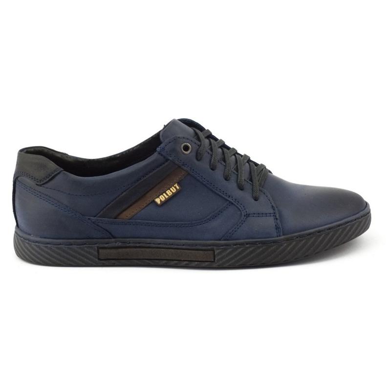 Polbut Men's shoes J47 navy blue