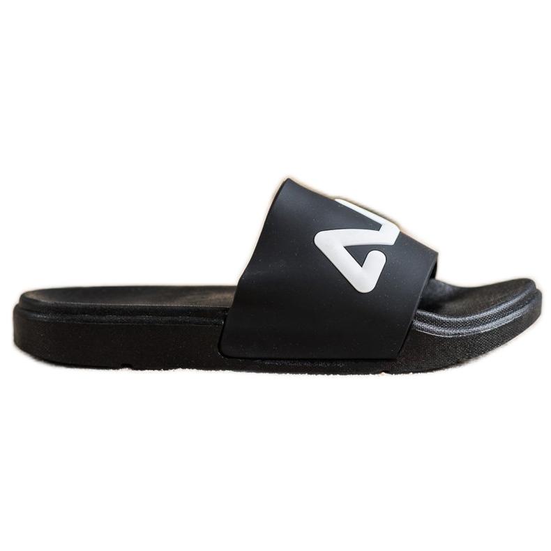 SHELOVET Comfortable Slippers black