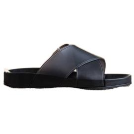 SHELOVET Fashionable Rubber Flip black