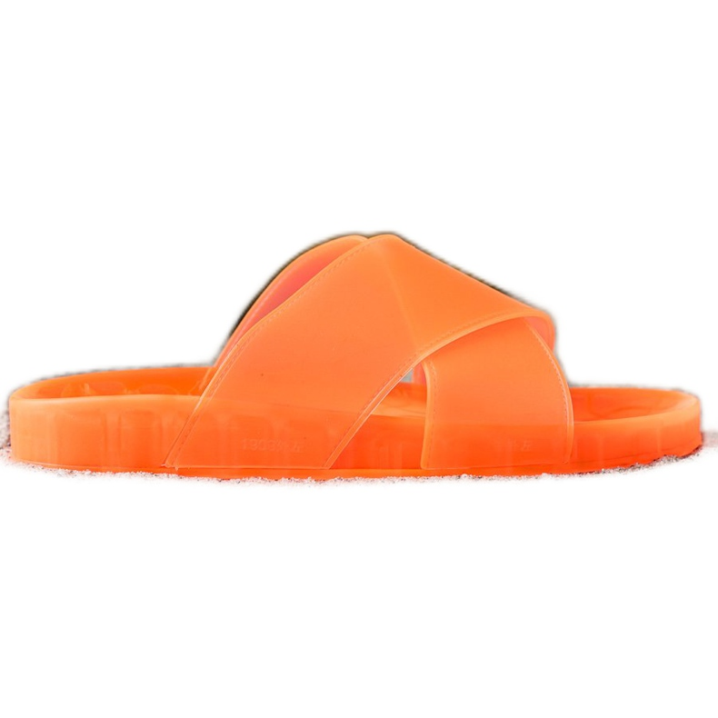 SHELOVET Fashionable Rubber Flip orange