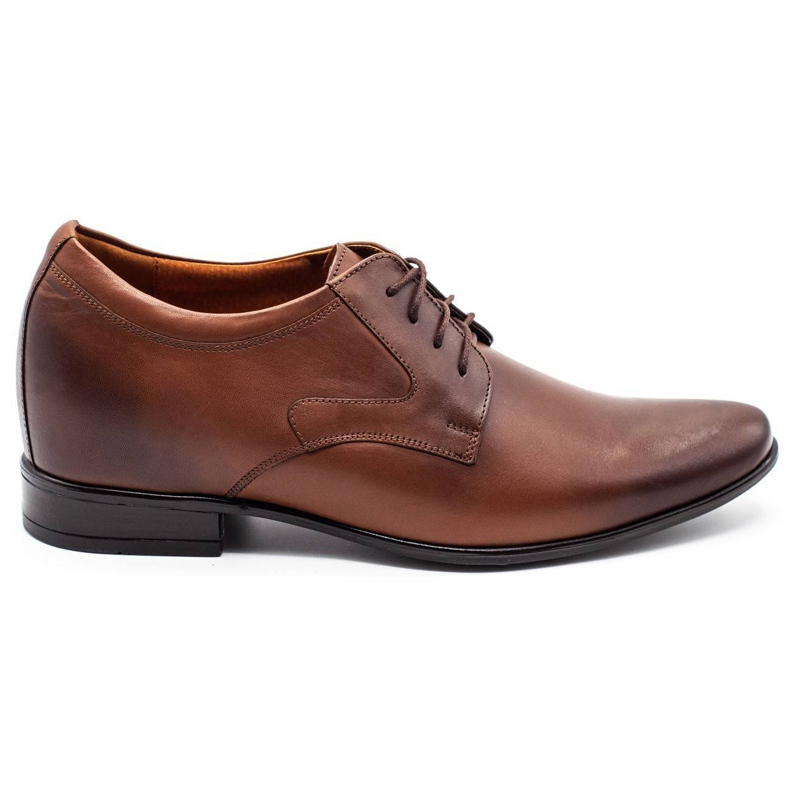 Olivier Men's formal shoes P11 increasing the covered wedge brown