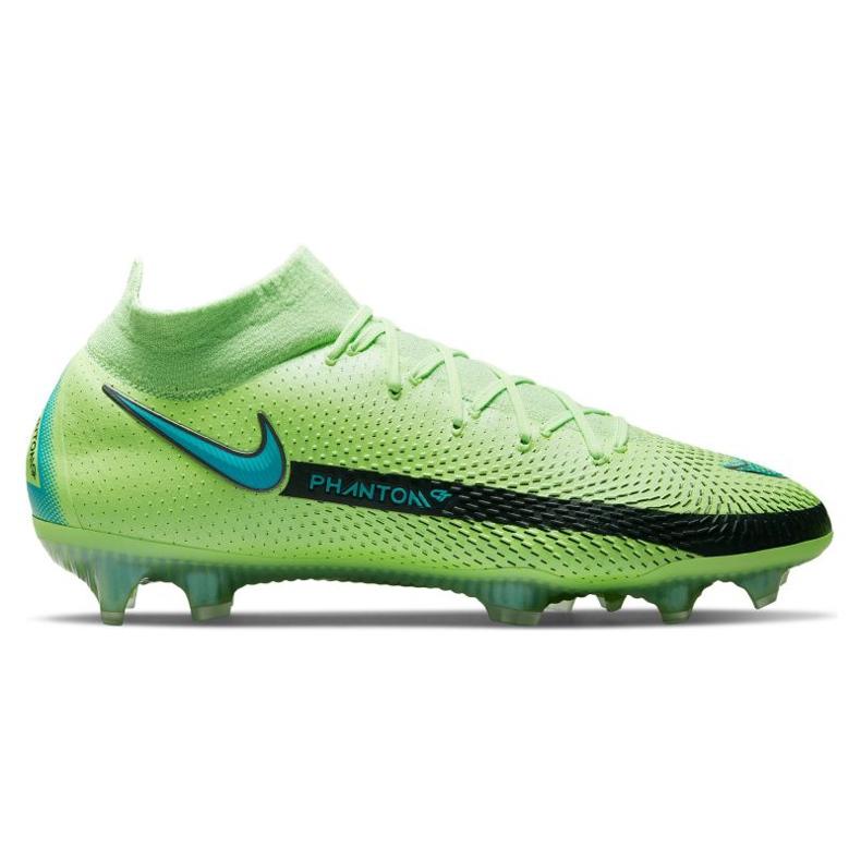 Nike Phantom Gt Elite Dynamic Fit Fg M CW6589 303 football shoe multicolored green