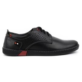 Olivier Men's casual shoes 302GT black