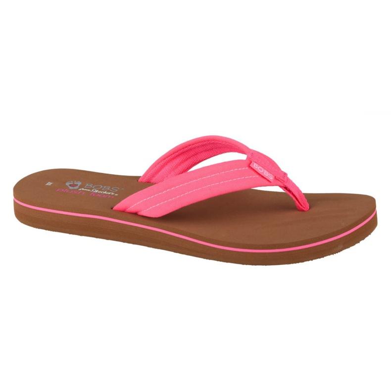 Skechers Bobs Sunset Neon Summer W 57116-NPNK black pink
