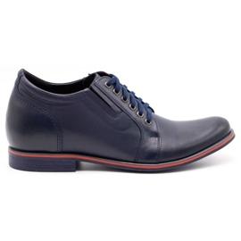 Olivier Men's shoes increasing P24 navy blue