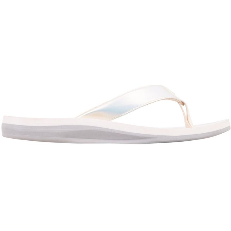 Kappa Ivie white women's slippers 242979 1017 multicolored