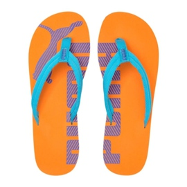 Puma Epic Flip v2 slippers orange 360248 52 blue