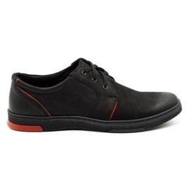Joker Men's leather casual shoes 322/2 black