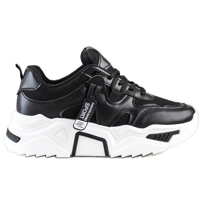 Sweet Shoes Fashion Sport Sneakers black